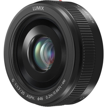 Rent Panasonic Lumix f1.7 20mm prime lens for mFT