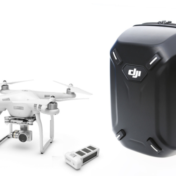 Rent DJI Phantom 3 Professional Quadcopter, 4K Camera, 3-Axis Gimbal PLUS Ipad Mini