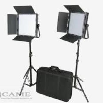 Rent (2) CAME-TV High CRI Bi-Color 1024 LED Video Lights