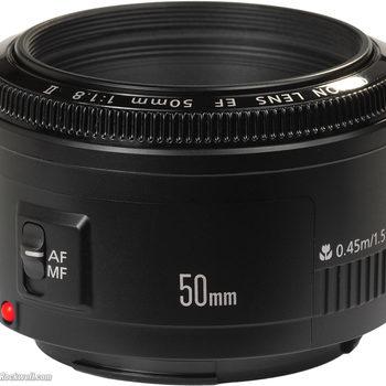 Rent Canon 50mm EF f/1.8 II