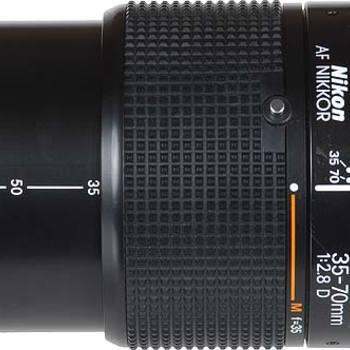 Rent Nikon 35-70mm f2.8D push/pull macro zoom lens
