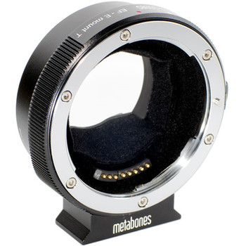 Rent Metabones T Smart Adapter Mark IV for Canon EF or Canon EF-S Mount Lens to Sony E-Mount Camera