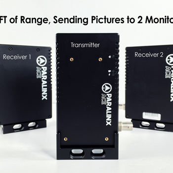 Rent Paralinx ACE HD SDI Wireless Video Transmitter & 2 Receivers