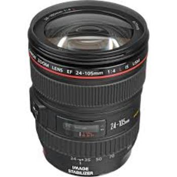 Rent Canon 24-105mm F/4 (L) Series Lens