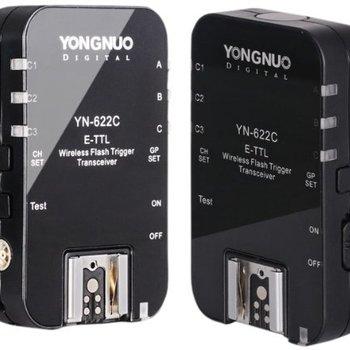 Rent Yongnuo YN-622C Wireless ETTL Flash Trigger Receiver Transmitter Transceiver