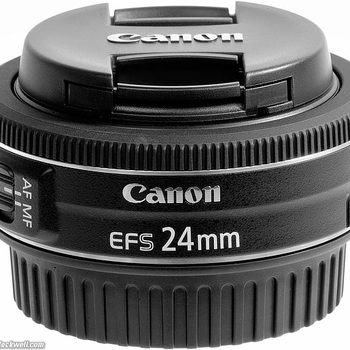 Rent Canon 24mm EF-S pancake lens