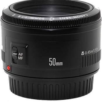 Rent Canon EF 50mm f/1.8 II