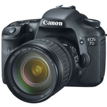 Rent Canon 7D Body Plus 35-135mm Lens (Photo is of a 28-135 lens)