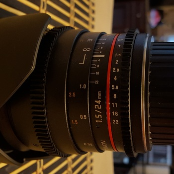 Rent Rokinon 24mm T1.5 Cine Lens
