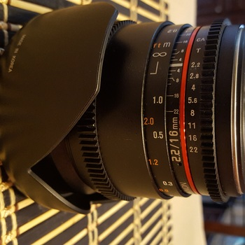 Rent Rokinon 16mm Cine Wide Angle T2.2