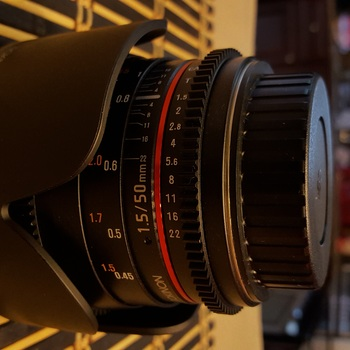 Rent Rokinon 50mm T1.5 Cine DS Lens for Canon EF Mount