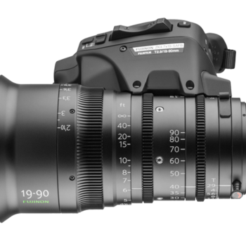Rent Fujinon 19-90mm Servo Zoom lens (PL) Mount / T2.8