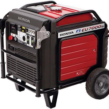 Rent HONDA EU7000IS Super Quiet Generator
