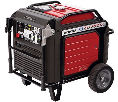 HONDA EU7000IS Super Quiet Generator. Honda Eu7000is