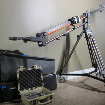 Rent Libec SWIFT Jib 30 + tripod on dolly