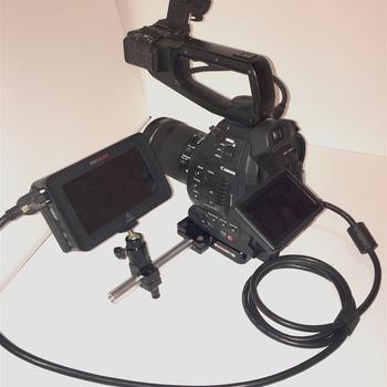 Rent Canon C100 -Ninja Blade -Lens choice