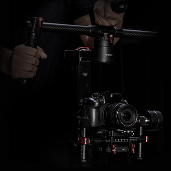 Rent DJI Ronin M package with GH4, Canon Speedbooster,  Sigma 18-35mm and Odyssey 7Q+