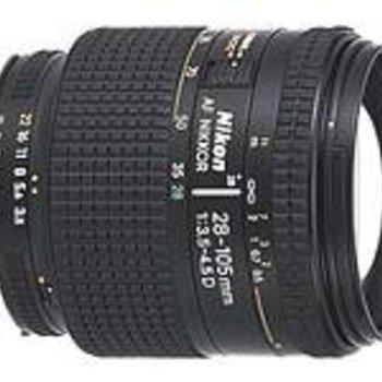 Rent Nikon 28-105mm f3.5-4.5
