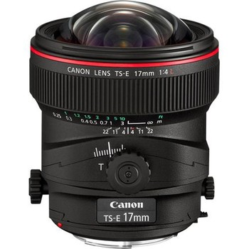 Rent Canon TS-E 17mm f/4L Tilt-Shift Lens
