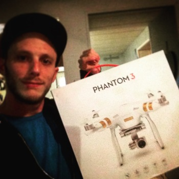 Rent DJI Phantom 3 Professional