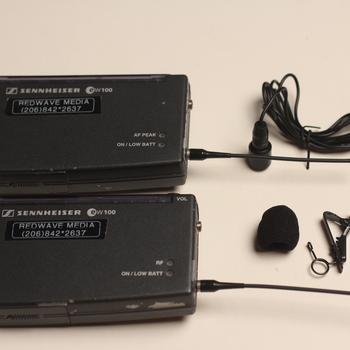 Rent Sennheiser EW100 G1 Wireless Transmitter + Receiver Bodypacks + Lavalier Mic