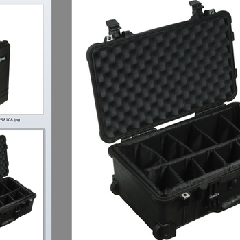Rent Pelican 1514 Carry On 1510 Case with Dividers
