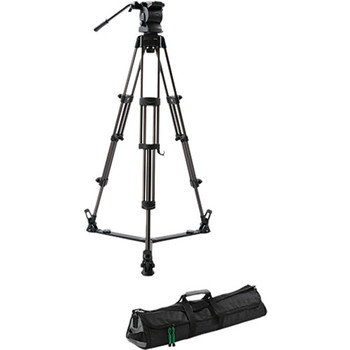 Rent Libec RS-350 Professional 2-Stage Aluminum Tripod System w/ Mid Level Spreader