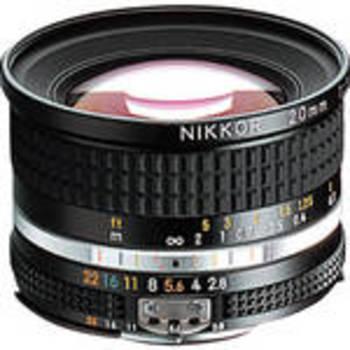Rent Nikon NIKKOR 20mm f/2.8 Lens