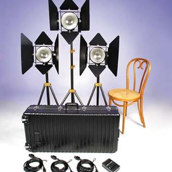 Rent Lowell DP 3 Light Kit
