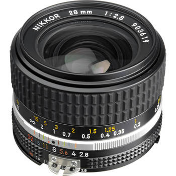 Rent 28mm f/2.8 manual lens w/optional Canon adapter