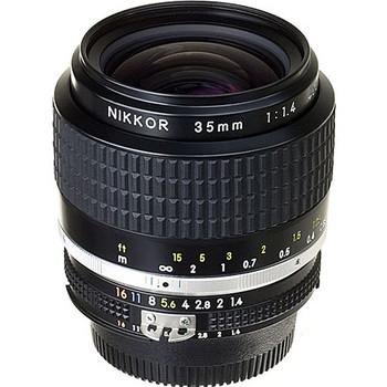 Rent Nikon NIKKOR 35mm f/1.4 full manual lens w/Canon adapter