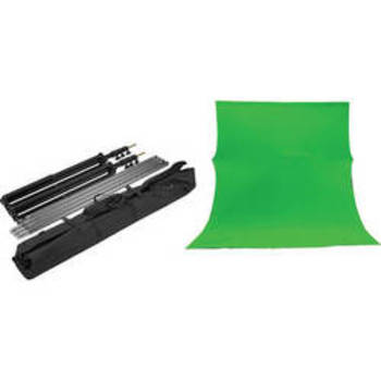 Rent 10x12 ft green screen w/stand