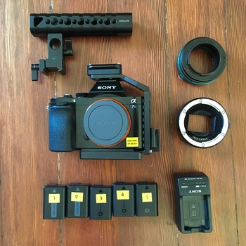 Rent Sony A7s Kit