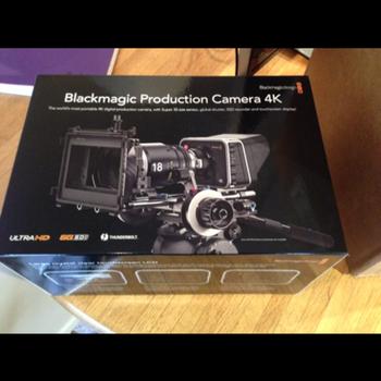 Rent Blackmagic Production Camera 4K