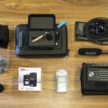 Rent 360 VR Video Spatial Audio Kit - Core Sound Tetramic, Zoom H2n, Zoom H4n, RODE NTG02, Tascam DR-680 MKII