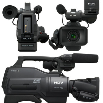 Rent Sony HVR-HD1000U Digital High Definition HDV Camcorder