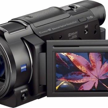 Rent 4 Sony FDR-AX33 4K HandyCam