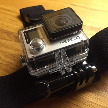 Rent GoPro HERO4 Silver complete kits with head strape