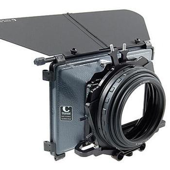 """Rent Mattebox Chrosziel 4"""" x 4"""" swing-away includes 0.3/6/9 ND filter set fits 15mm rods"""
