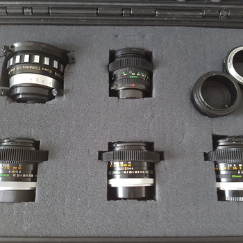 Rent Cine Anamorphic FD Lens Kit