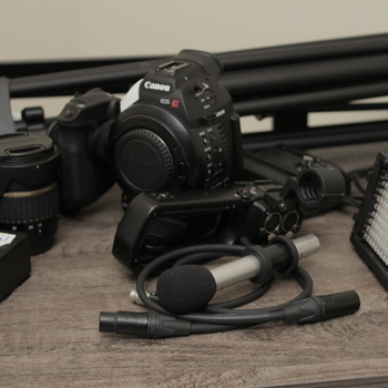 Rent Canon C100 Complete Kit