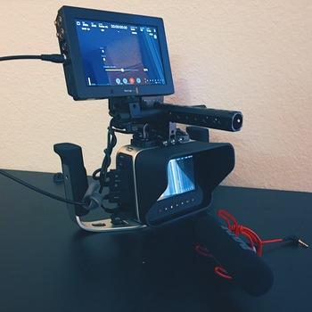Rent magic BMCC 4K Package w/ Zeiss 35mm lens & Recorder