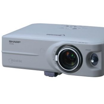 Rent Sharp NoteVision PG-B10S video projector 1200 Lumen with remote