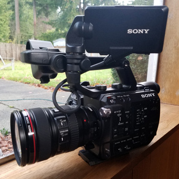 Rent Sony FS5 Package w/ Speedbooster & Canon 24-105