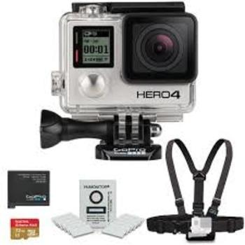 Rent GoPro Hero 4 Black, Waterproof case and extra battery