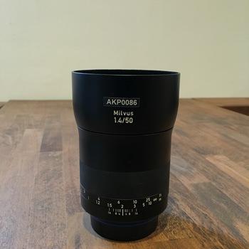 Rent Zeiss Milvus Prime EF 50mm f/1.4