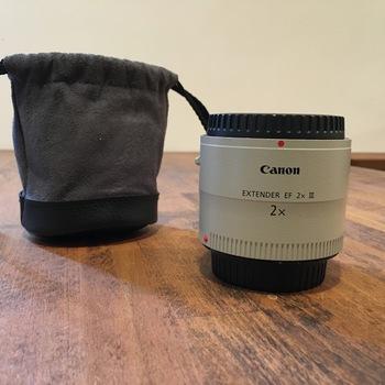 Rent Canon EF Extender 2x III