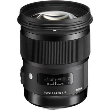 Rent 50mm f/1.4 DG HSM Art Lens
