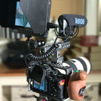 Rent Sony A7s II with Cage and EF Mount