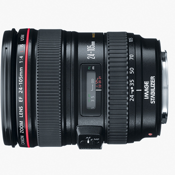 Rent Canon Workhorse lens - 24-105mm T4.0 Zoom